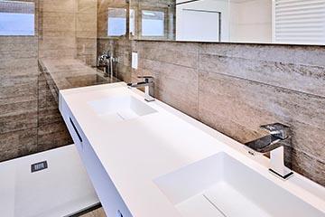 Encimera de baño Miami