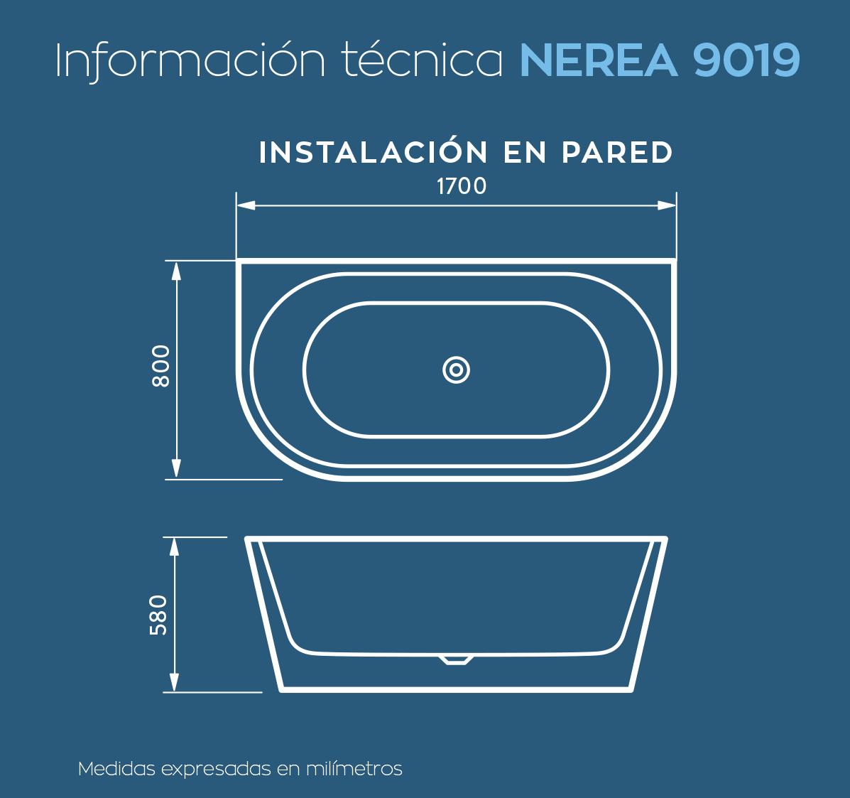 Bañera Nerea